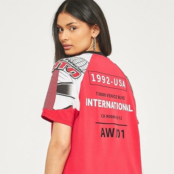 BDG Tops - BDG International Racer T-Shirt | MOTO T